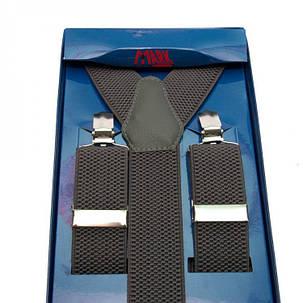 Подтяжки Gofin suspenders Y Образные Серые (Pu-0473), фото 2
