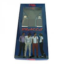 Подтяжки Gofin suspenders Y Образные Серые (Pu-0473), фото 3