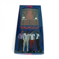 Подтяжки Gofin suspenders Y Образные Бордовые (Pu-0479), фото 3