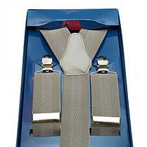 Подтяжки Gofin suspenders Y Образные Серые (Pu-0474), фото 3