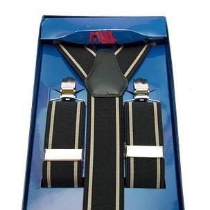 Підтяжки Gofin suspenders Y Подібні Чорні (Pu-0482), фото 2