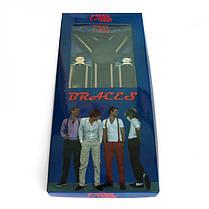 Подтяжки Gofin suspenders Y Образные Черные (Pu-0482), фото 3