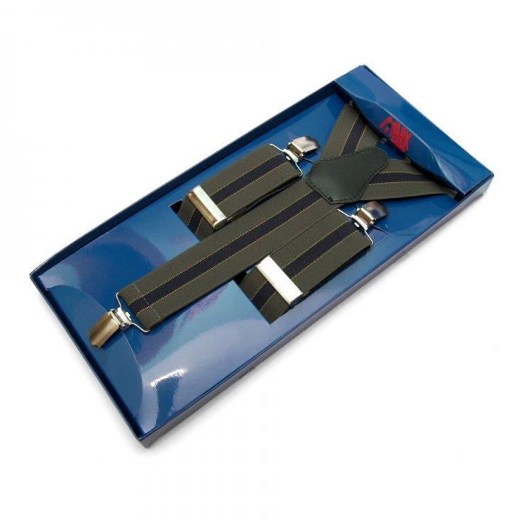 Підтяжки Gofin suspenders Y Образні Зелені (Pu-0481)