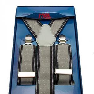 Подтяжки Gofin suspenders Y Образные Серые (Pu-0492), фото 2