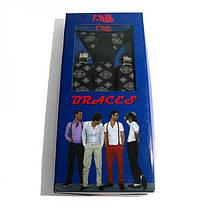 Подтяжки Gofin suspenders Y Образные Черные (Pu-0495), фото 3