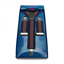 Подтяжки Gofin suspenders Y Образные Темно-синие (Pu-0480), фото 2