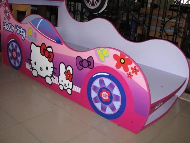 Кровать машинка Китти машина серии Драйв Hello Kitti