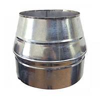 Конус дымоходный 180/250 нерж/оцинк 1 мм