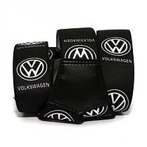 Чоловічі підтяжки Gofin з малюнком Volkswagen Y подібні 4 См Чорні (PBM-19006), фото 2