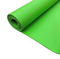 Коврик для йоги и фитнеса 4 мм R17824, зеленый