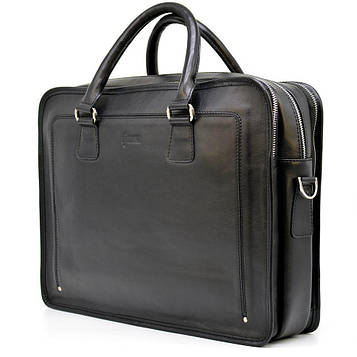 Деловая сумка-портфель из натуральной кожи для мужчин