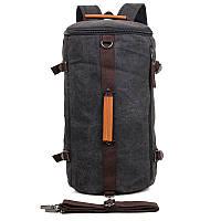 Дорожная сумка рюкзак для путешествий из ткани для мужчин
