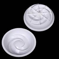 Форма для выпечки силиконовая Stenson размер 20,5х4см, белая, Посуда, Силиконовые формы для выпечки