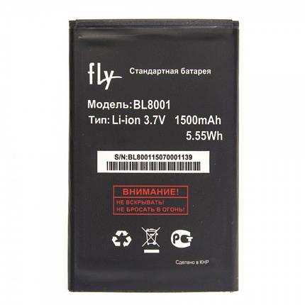 Аккумулятор Fly BL8001 для IQ4490, IQ436, IQ436i (MT4481), фото 2