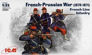 Французская линейная пехота (1870-1871). ICM 35061