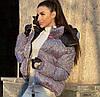 Мерцающая женская куртка супер Хит 1536 Ол