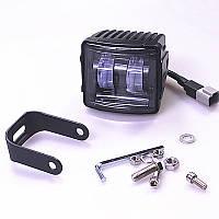 Світлодіодна протитуманна фара LED 87*78mm 30W 1600lm (1шт), фото 1