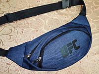 Сумка на пояс UFC ткань мессенджер pvc спортивные барсетки сумка бананка только опт, фото 1