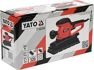 Шлифовальная машинка 300 Вт YATO YT-82234, фото 2