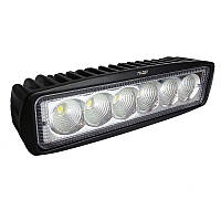 Противотуманная LED фара 154*42mm 18W  1100lm (1шт) (ближний свет)