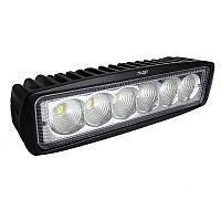 Світлодіодна протитуманна фара LED 154*42mm 18W 1100lm (1шт) (ближнє світло), фото 1