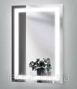 Зеркало для ванной с LED подсветкой Лайт Z3 80*68см