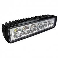 Світлодіодна протитуманна фара LED 154*42mm 18W 1100lm (1шт) (дальнє світло), фото 1