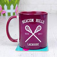 Чашка Beacon Hills 2 (Teen Wolf) бордовый