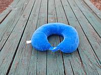 Подушка LSM для путешествий 30х30х9 синяя   (105-103)