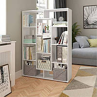 Стеллаж для дома, полка для книг из ДСП на 11 ячеек (4 ЦВЕТА) 1072x1430x290 мм Возможны Ваши размеры