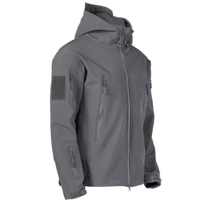 Куртка тактична Softshell Shark Skin 01. ESDY. Сіра