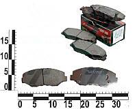 Колодки тормозные передние HONDA ACCORD 2.0 03-/CR-V 2.0 02-06. SMB23856 (SAMSUNG)