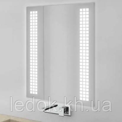 Зеркало с LED подсветкой Лайт Z13 80*60см
