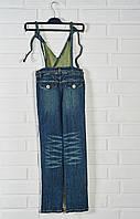 Комбинезон джинсовый Himunssa