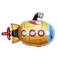 Фольгированный шар 38' Китай Подводная лодка в упаковке, 95 см