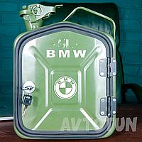"""Канистра-бар 5 л """"BMW"""". Топ начинка. Нанесем любую надпись. Минибар из канистры."""