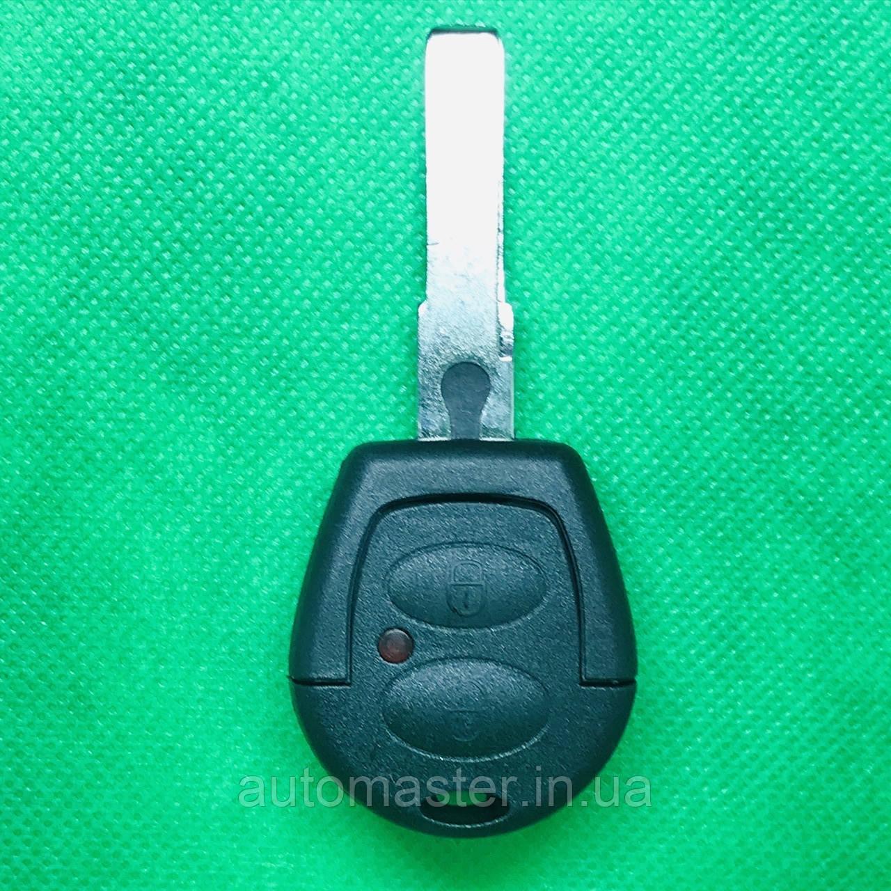Корпус автоключа Volkswagen Polo, Golf, Jetta, Sharan (Фольксваген) 2 кнопки