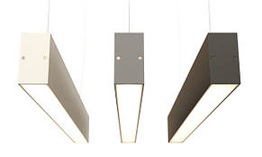 Торгово-офисный линейный LED светильник 25W IP44 1000 мм