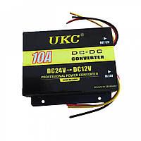 Инвертор, преобразователь Ukc DC/DC 24v-12v 10 A, фото 1