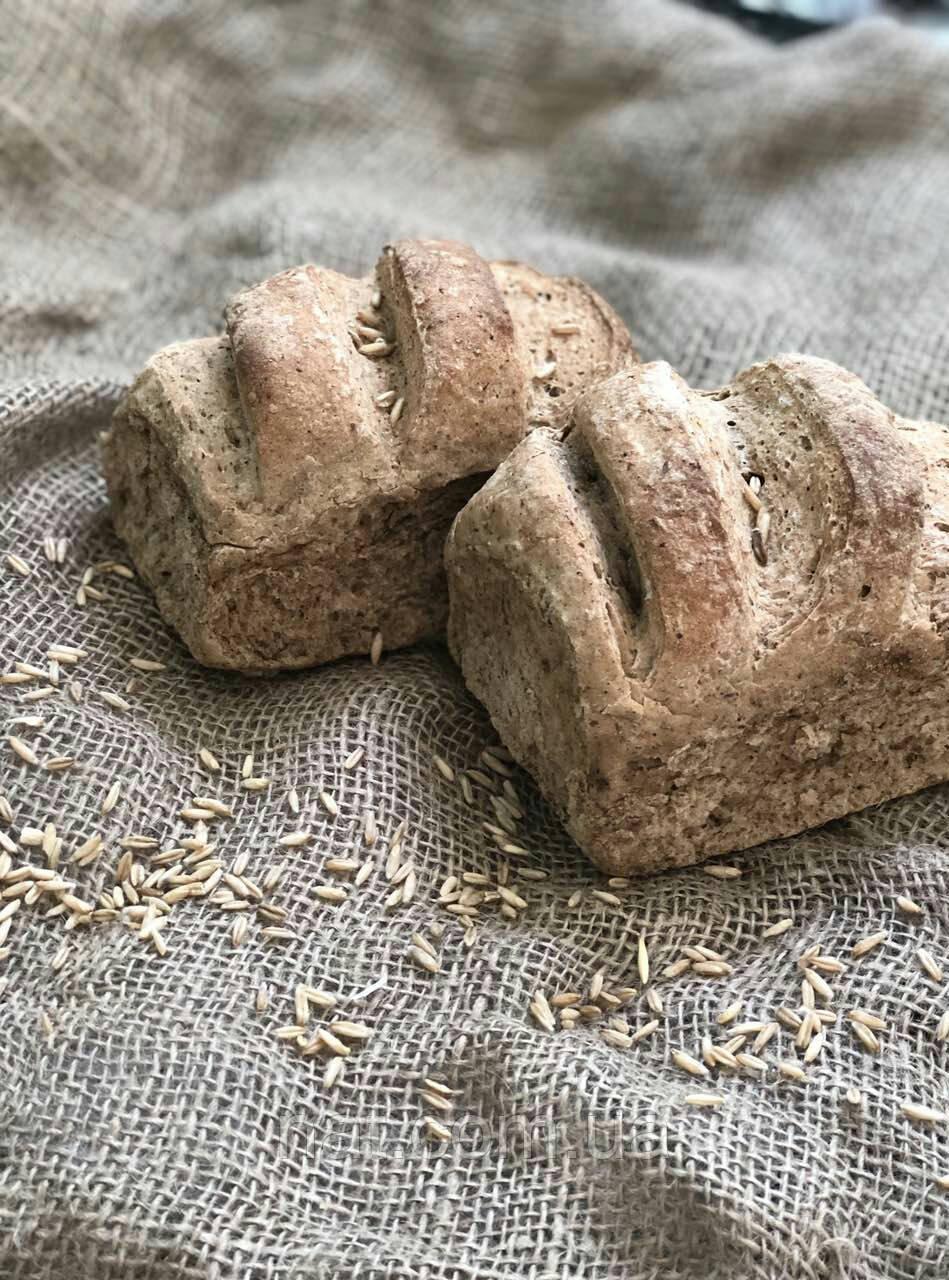 Хлеб бездрожжевой цельнозерновой домашний