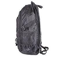 Мужской рюкзак черного цвета GO1-3808 Черный