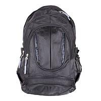 Рюкзак черного цвета из полиэстера GO1-3830 Черный