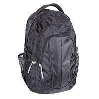 Современный городской рюкзак GO1-3837 Черный