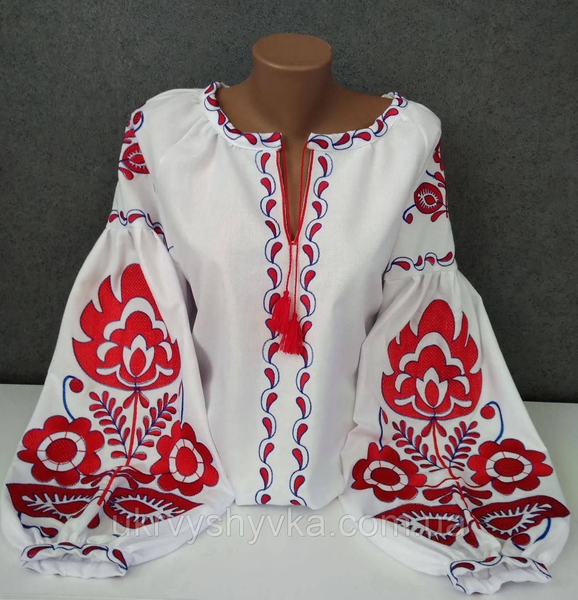 """Блузка вишиванка """"Полум'я"""""""