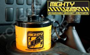 Автомобильное Зарядно - пусковое устройство для аккумулятора Mighty Jump MJ01, Jump Sterter 3011, фото 2