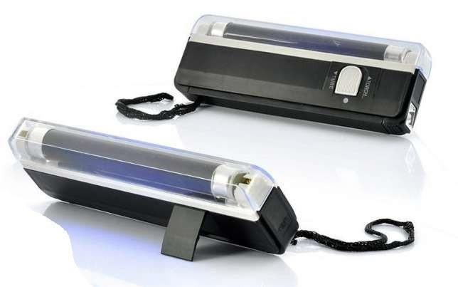 Ультрафиолетовый портативный ручной детектор валют DL01 DL-01