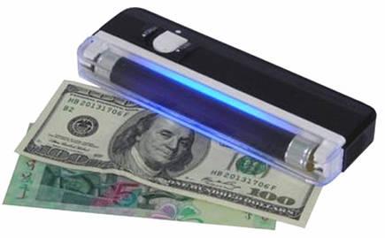 Ультрафиолетовый портативный ручной детектор валют DL01 DL-01, фото 2