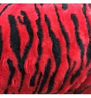 Чехлы универсальные красные (искусственный мех) полный комплект