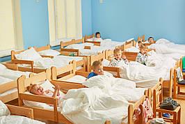 Кровать детская одноярусная (600-1400) массив