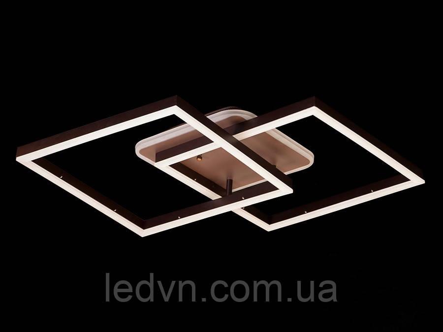 Стельова LED-люстра з діммером і підсвічуванням, 85W